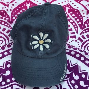 NWOT Youth Flower Life is Good Hat